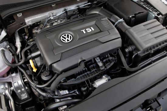 под капотом VW Golf 7
